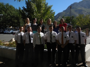 Tyler's MTC District ready to fly to the Philippines!