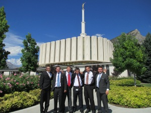 Tyler's District at the Provo, UT temple