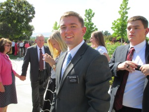 Tyler at the MTC