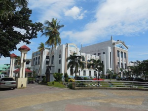 Lucena is the Capital of Quezon Province.  This is the capital building and grounds.