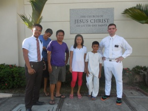 baptism of Jonas - my little buddy!