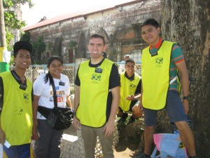 Performing service to the Filipino people